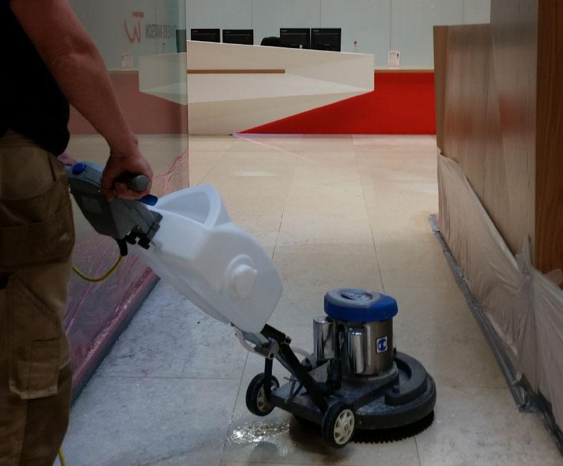 Natural Stone Floor Restoration & Repair