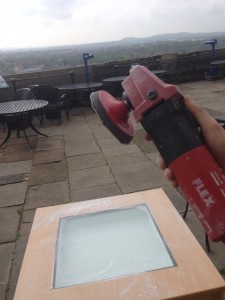 Glass Polishing with a View